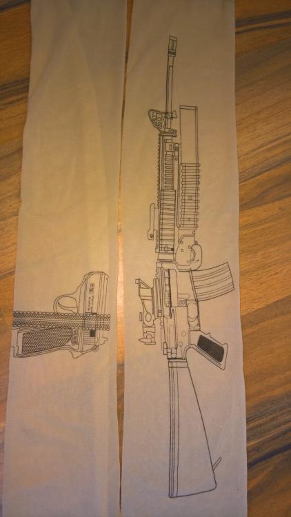 Gewehr bei Fuß...[Strumpfhose von Cloudy] im Produkttest