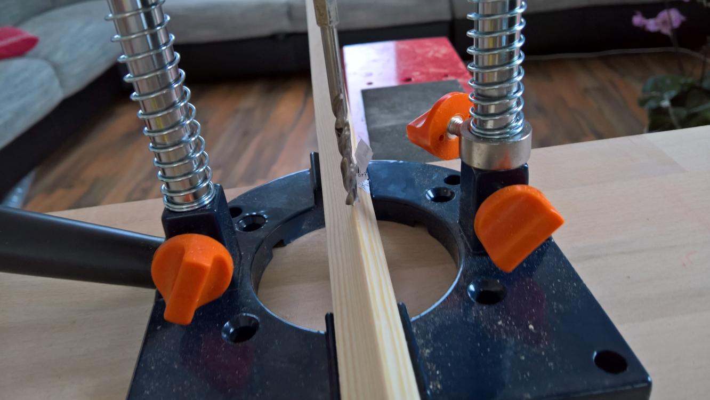 Standbohrmaschine ohne Standbohrmaschine! [Bohrhilfe von kwb (5 von 5)] im Produkttest