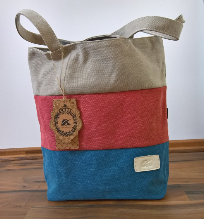 Tricolore mal anders...[Tasche von Only One You] im Produkttest