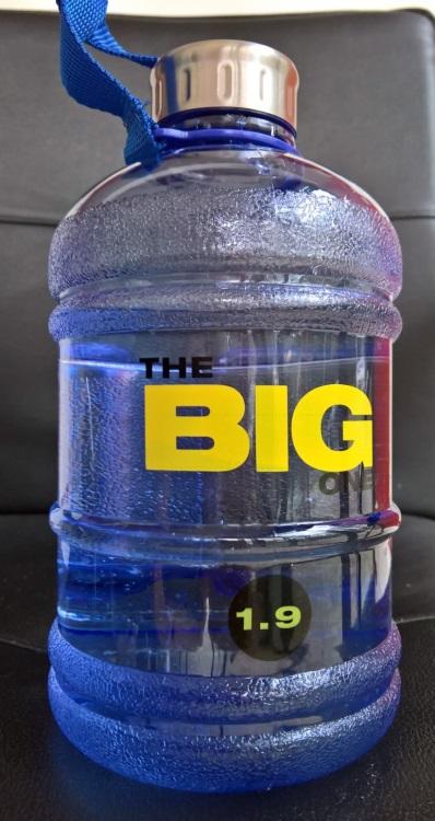 Große Nummer? [Sportwasserflasche von #DoYourFitness (5 von 5)] im Produkttest