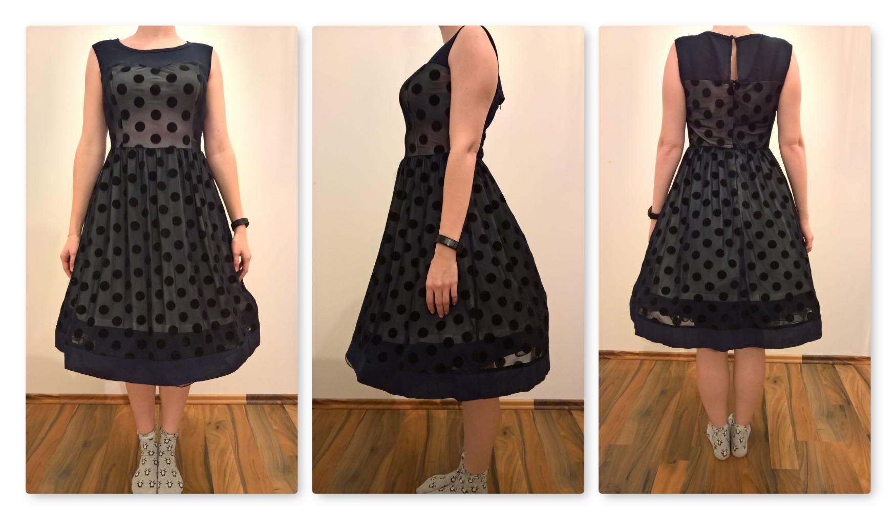 Ich bin bepunktet [Kleid von Scothen (4,5 von 5)] im Produkttest