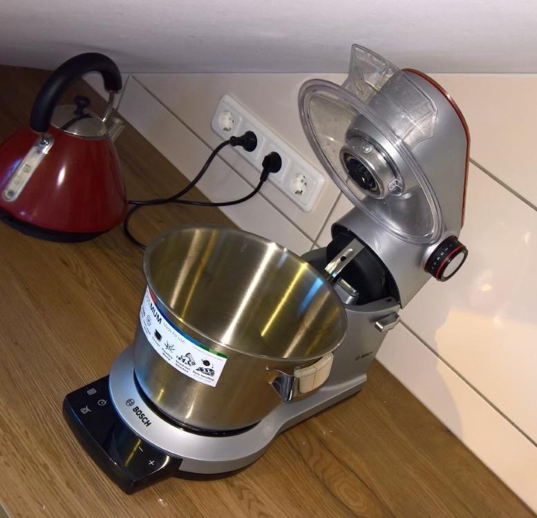 Teures Stück [Küchenmaschine Bosch Optimum MUM9AX5S00 (2 von 5)] im Produkttest