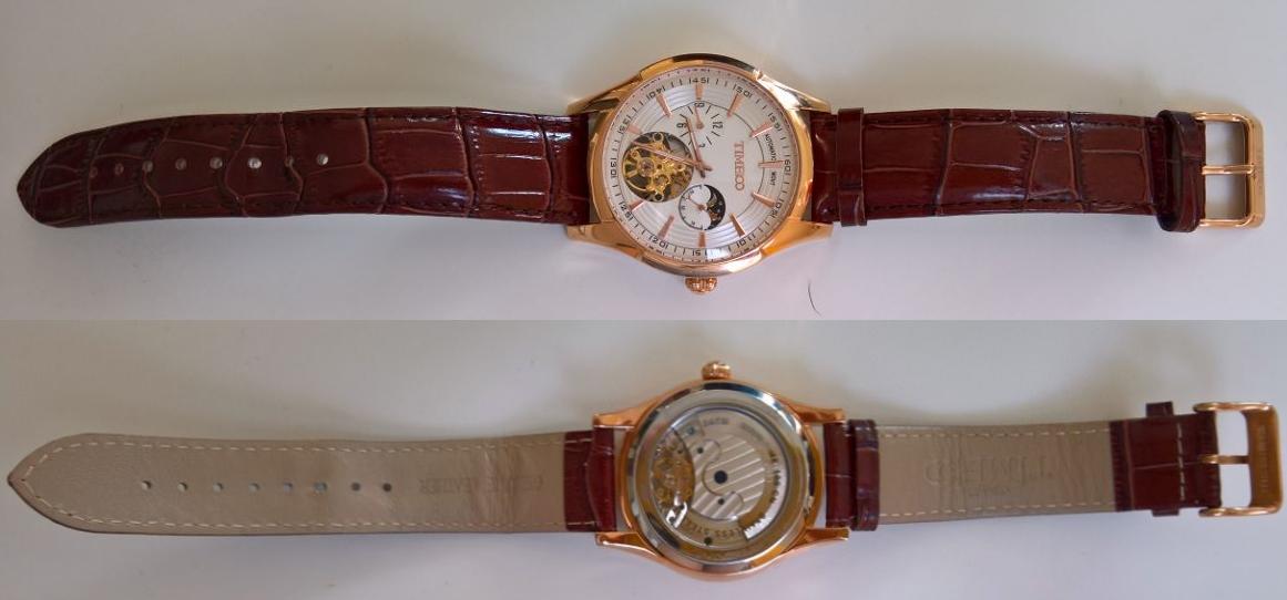 Automatisch [Armbanduhr von Time100 (5 von 5)] im Produkttest