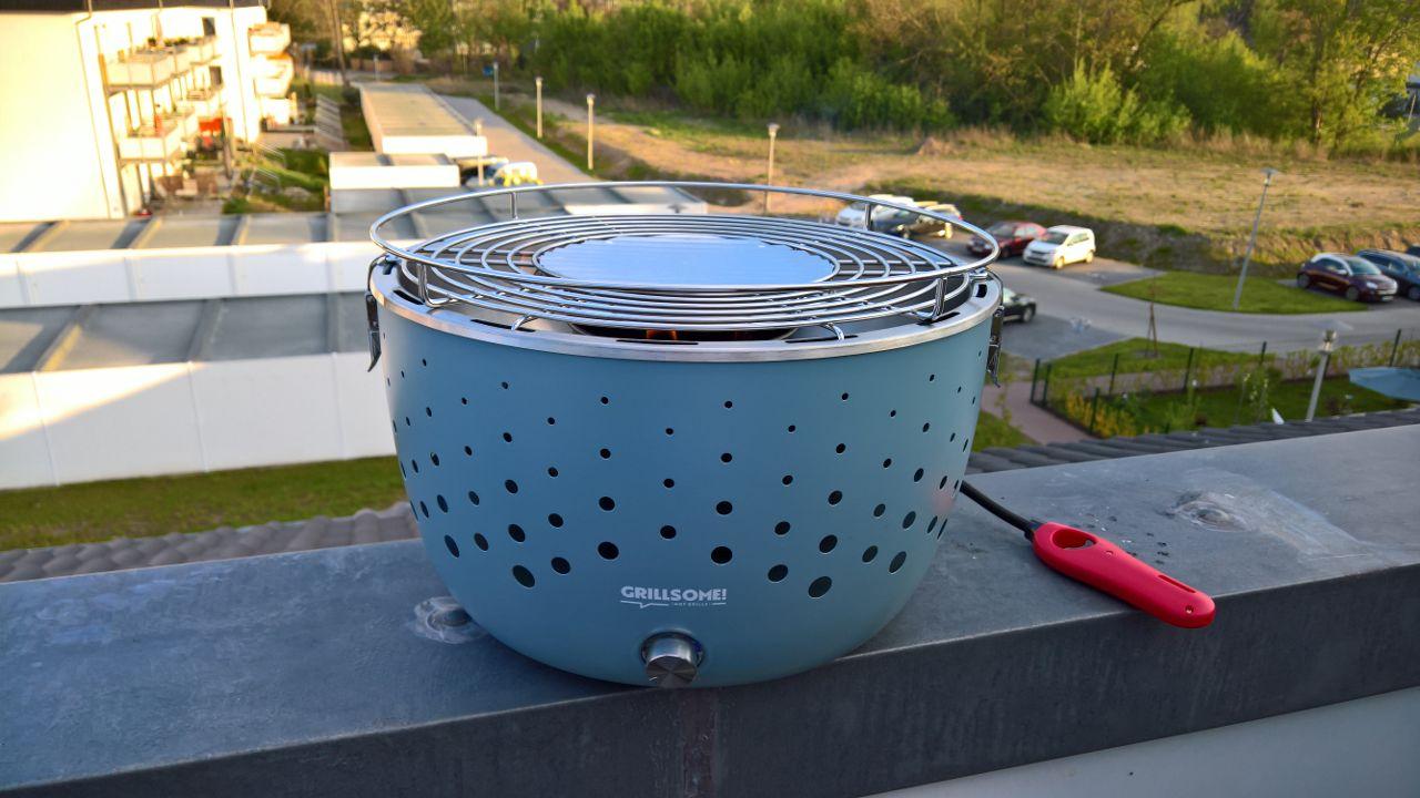 Grillsome Rauchfreier Holzkohlegrill : Grillen ohne rauch grillsome hugo von testerbar