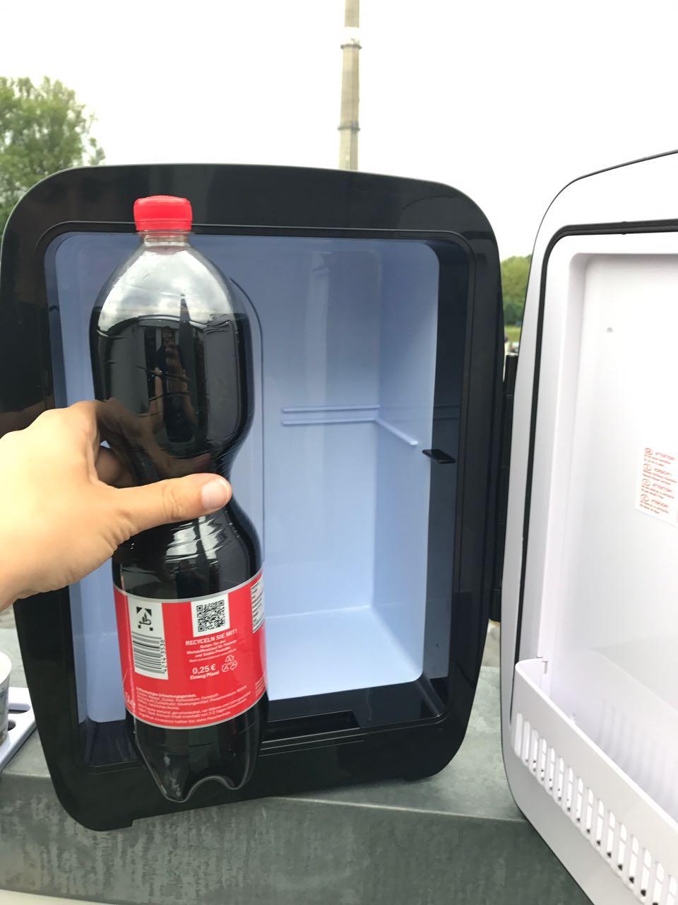 Kühlschrank to go [Mobiler Kühlschrank von OneConcept (4 von 5)] im Produkttest