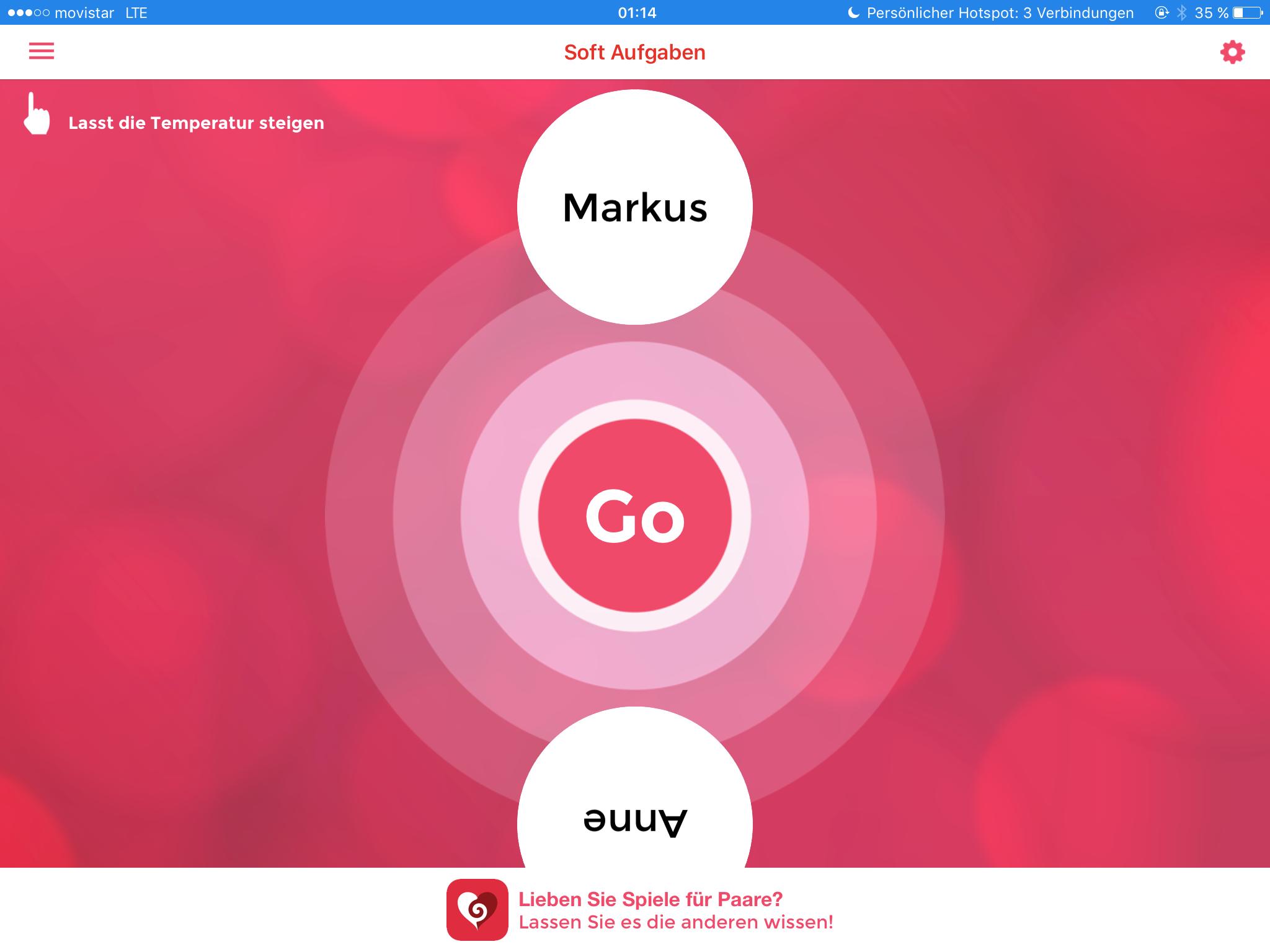 Paare Sex-Spiele-Apps