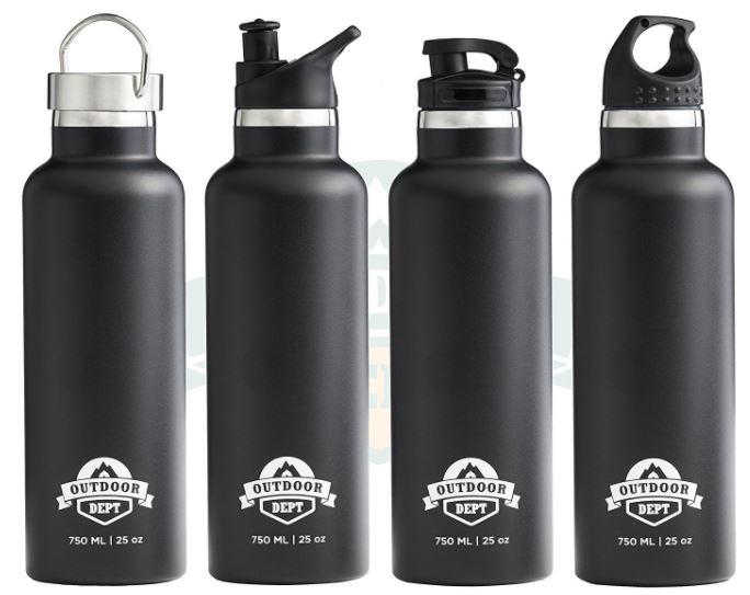 Starkes Stück [Trinkflasche von Outdoor Dept (5 von 5)] + Gewinnspiel im Produkttest