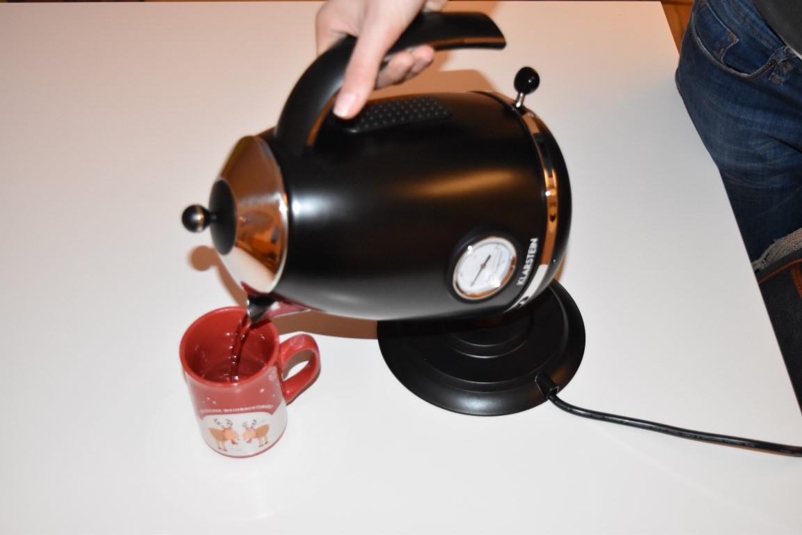 Für Teentrinker [Retrowasserkocher von Klarstein (4,5 von 5)] im Produkttest