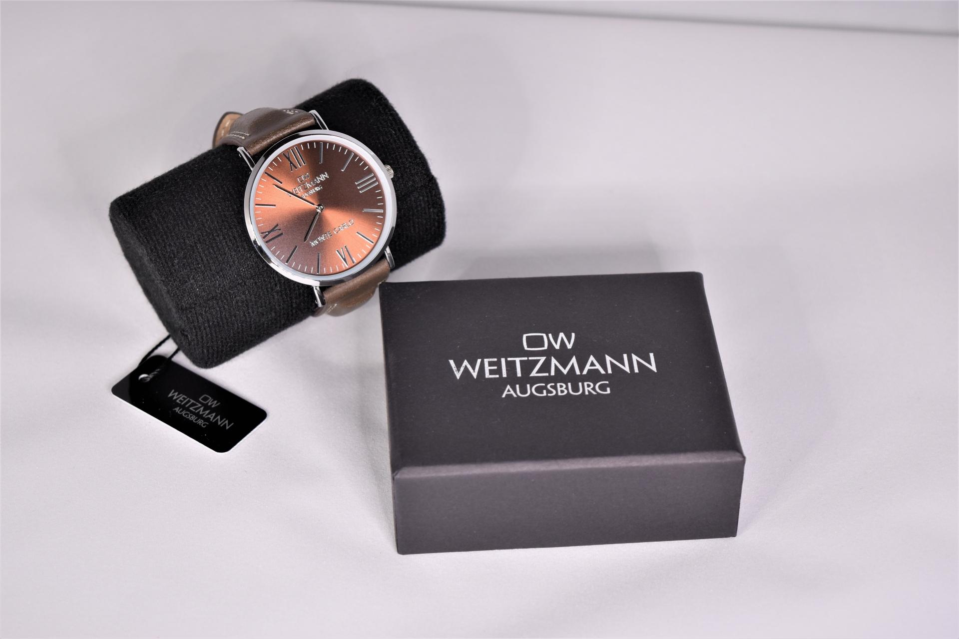 Elegante + Rustikale Uhr von Weitzmann zu gewinnen im Produkttest